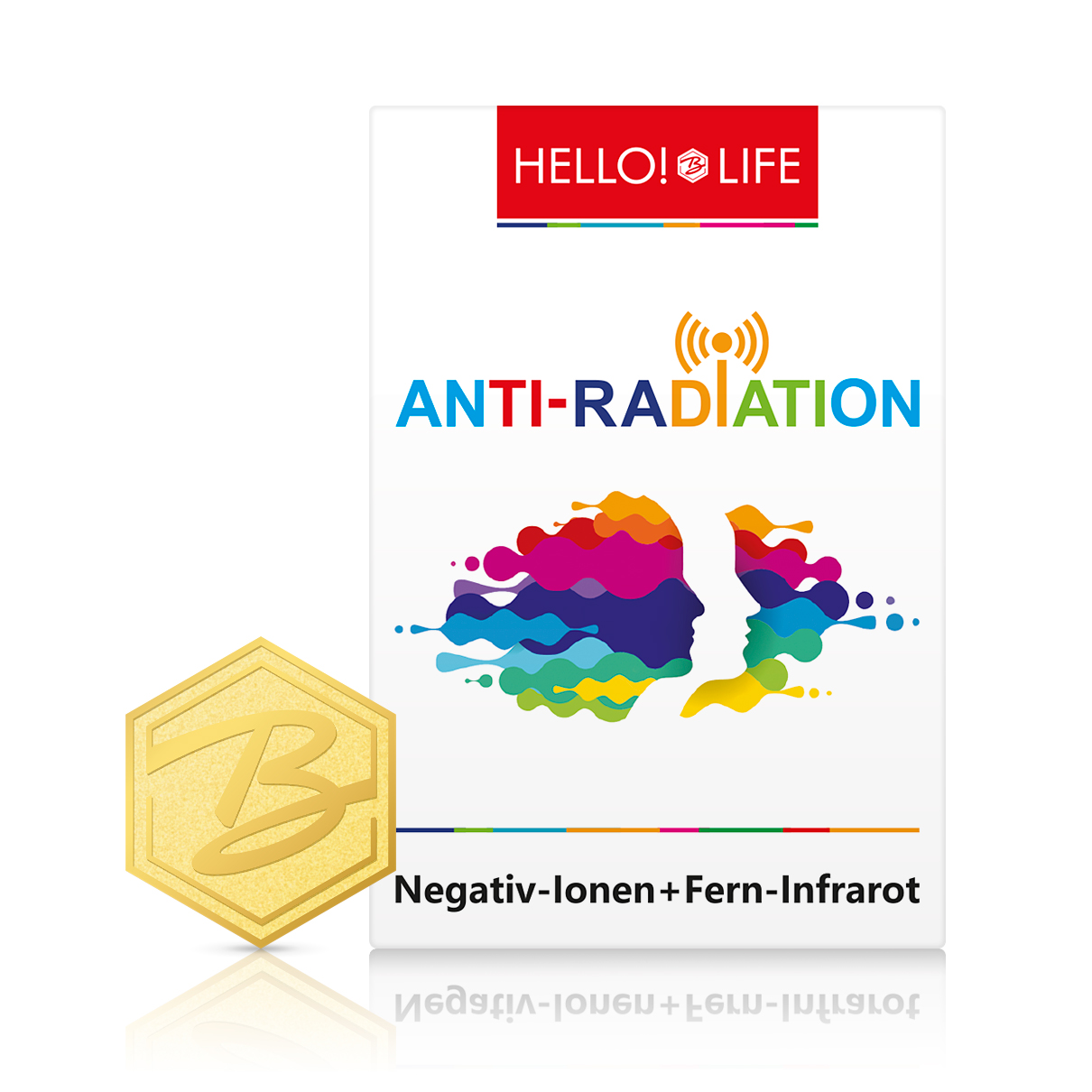 Hello!Life Anti-Radiation-Sticker
